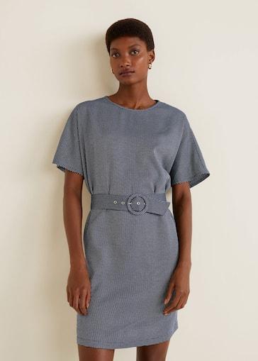 design distintivo più nuovo di vendita caldo A basso prezzo Belted dress