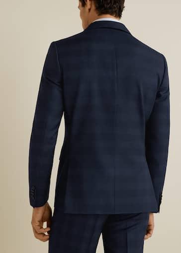 new styles c359b f5048 Slim-fit virgin wool suit blazer