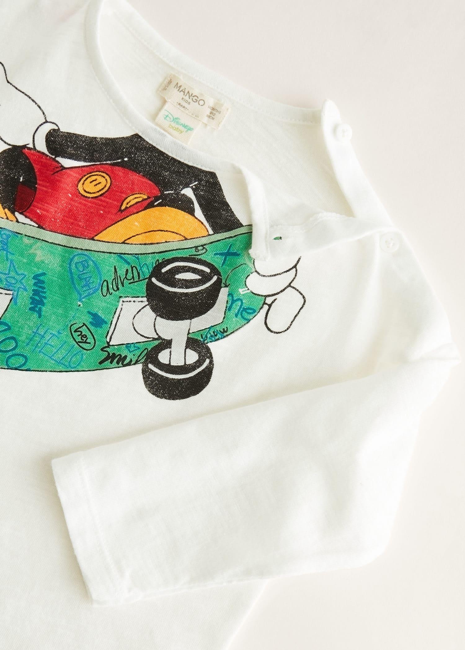 Mickey mouse t shirt Pojke   Mango Kids Sverige