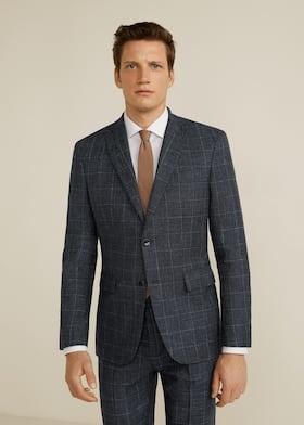 Americana traje slim-fit lana virgen - Plano medio 6d1deaa5a1df
