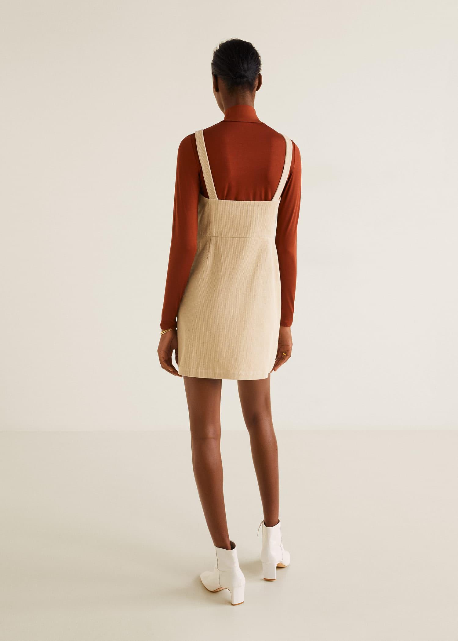 Pichi de bombazine Mulher | Mulher, Vestidos de mulher e