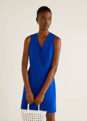 656bc4443 Vestido entallado - Mujer