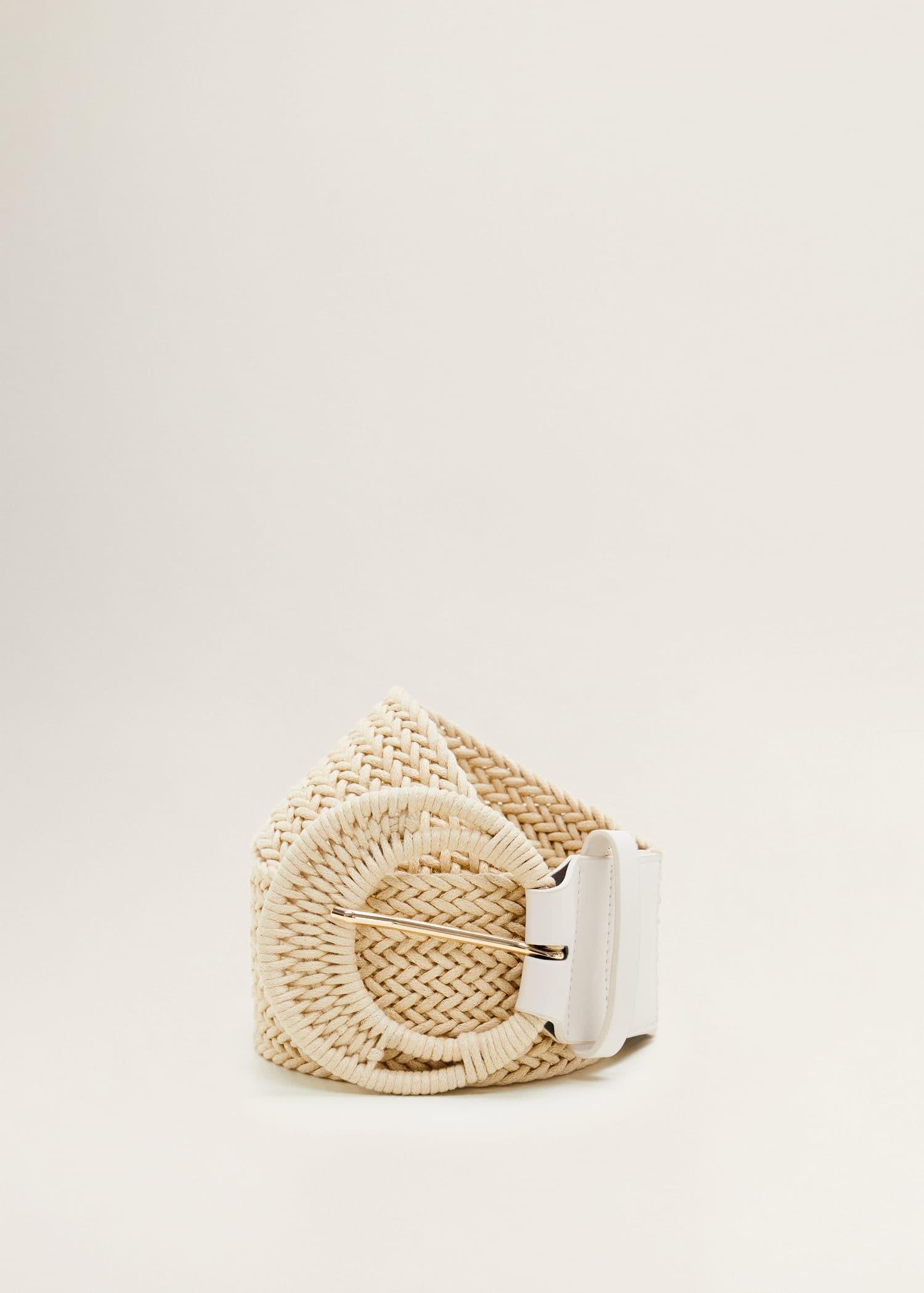 Mini veske heklet Damer | Mango Norge