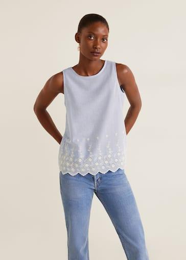 3de57fa2f Blusas - Camisas de Mujer 2019   Mango España