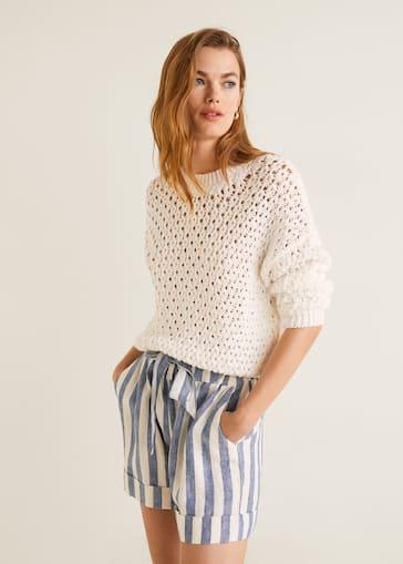 Geruite Korte Broek Dames.Shorts Voor Dames 2019 Mango Nederland