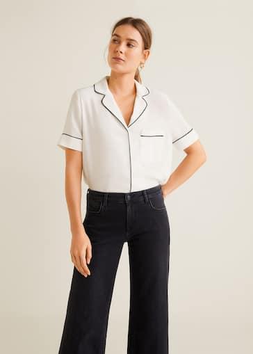 cfde86022a1 Camisas de Mujer 2019 | Mango España