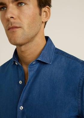 ef2c1802 Jeans - Skjorter for Menn 2019 | Mango Man Norge