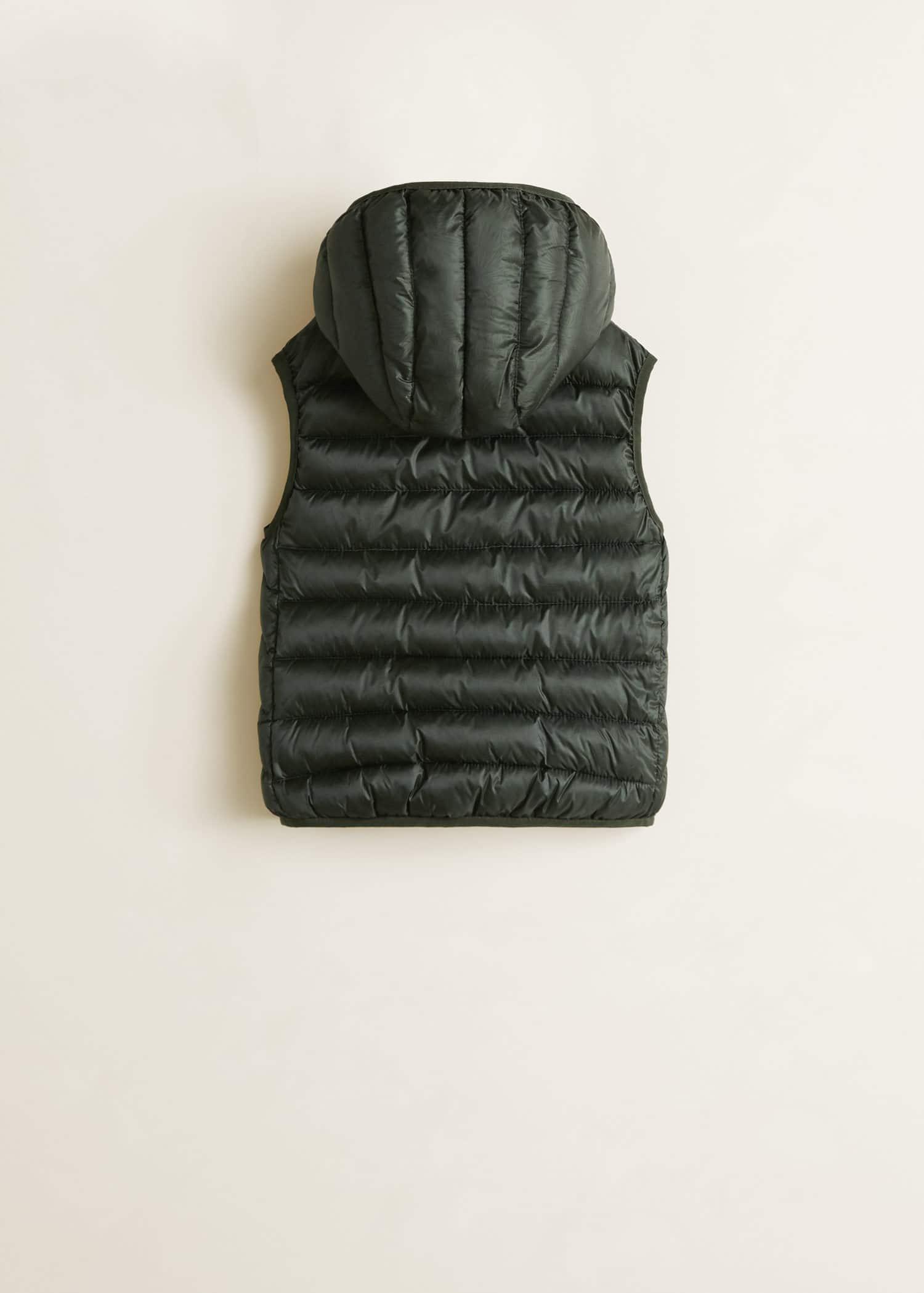 Homme Gilet Gilet Matelassé À Capuche Max Edition rembourré matelassé veste sans manches