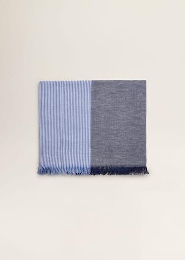 Écharpes et foulards pour Homme 2019   Mango Man France d9c98da4460