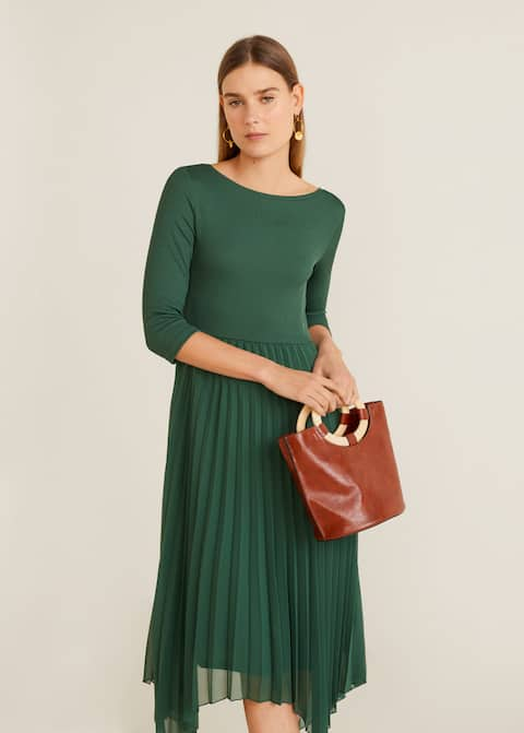 c7b3ded91aed Pleated midi dress - Details of the article 2