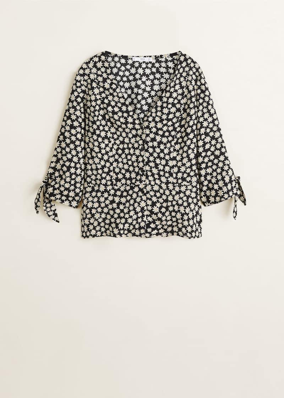 94ecaabe Bluse med blomstertrykk - Artikkel uten modell