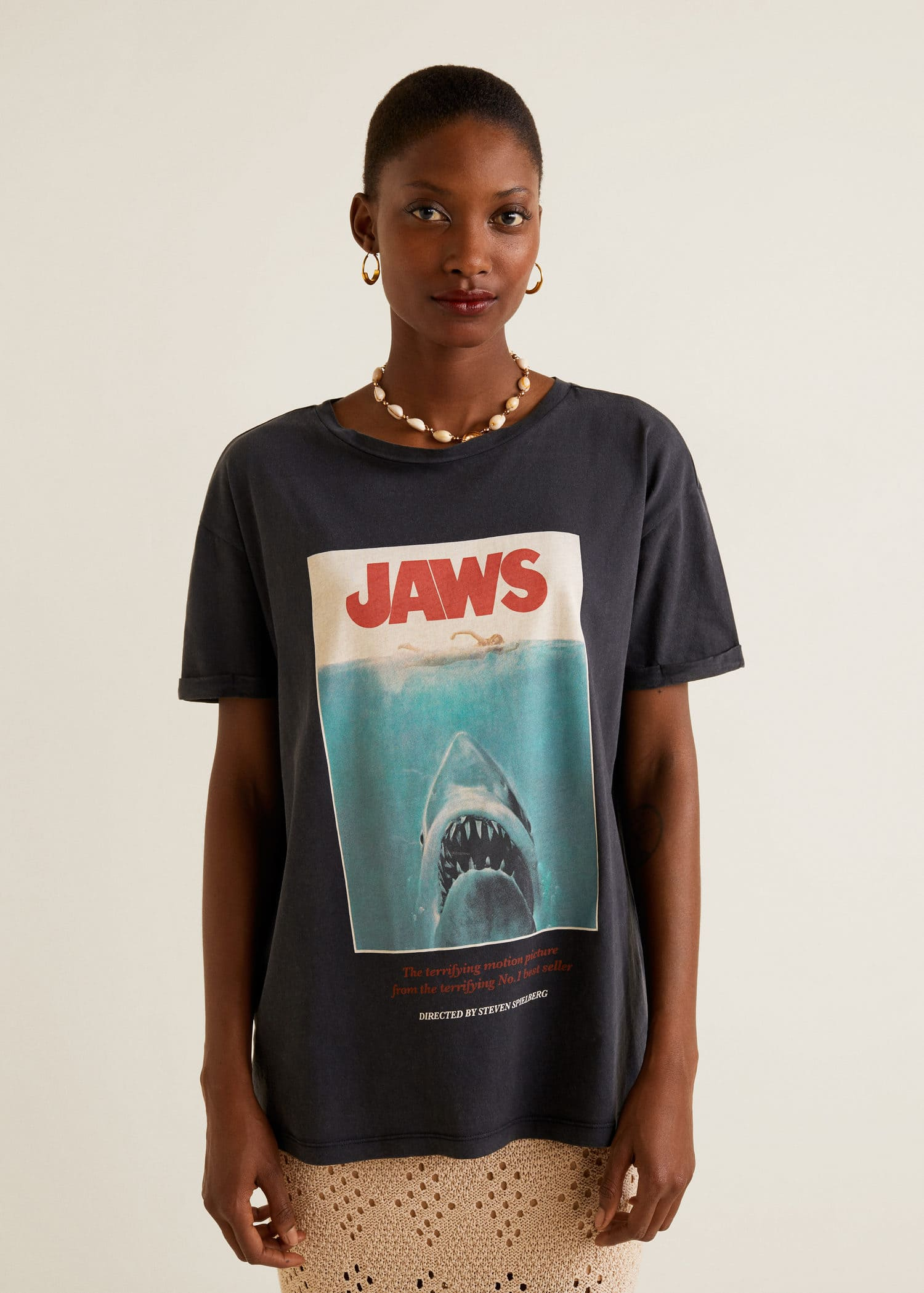 t-shirt femme mango