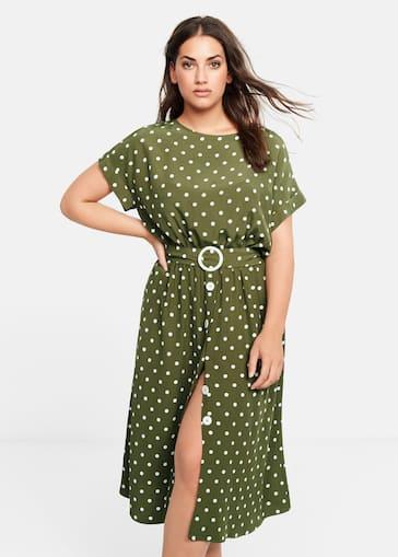 4163822f113a Dresses Plus sizes 2019   Violeta by Mango USA