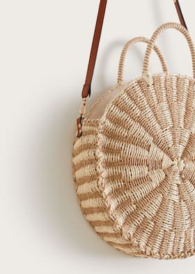 exclusive deals sells new lifestyle Sac rond paille
