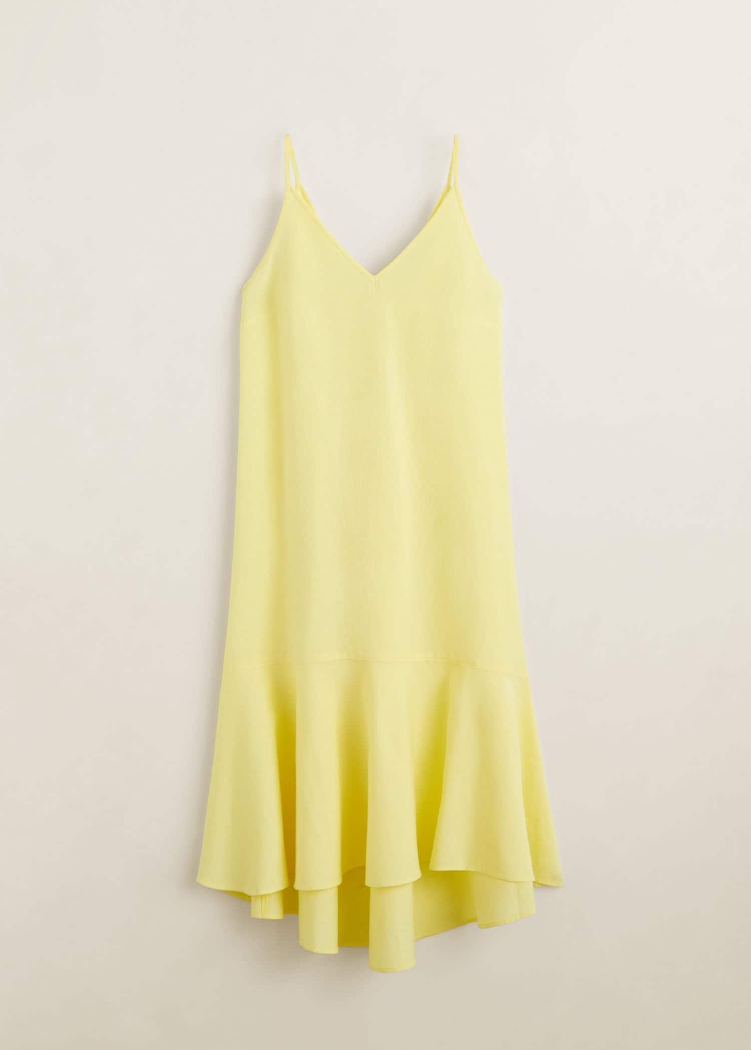 amazon uk store good out x Modalite - Mango Frill cotton dress