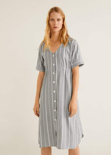 af6958898d4e Φόρεμα με ελαστική μέση - Μεσαίο πλάνο