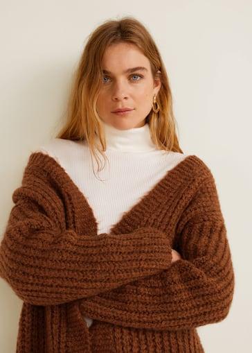 d169fa294770 Chunky knit cardigan - Women