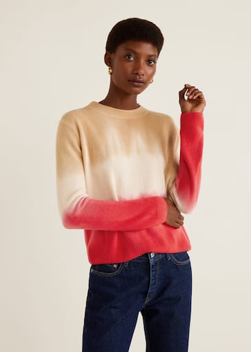 64ad1328089c Tricolor knit sweater - Women