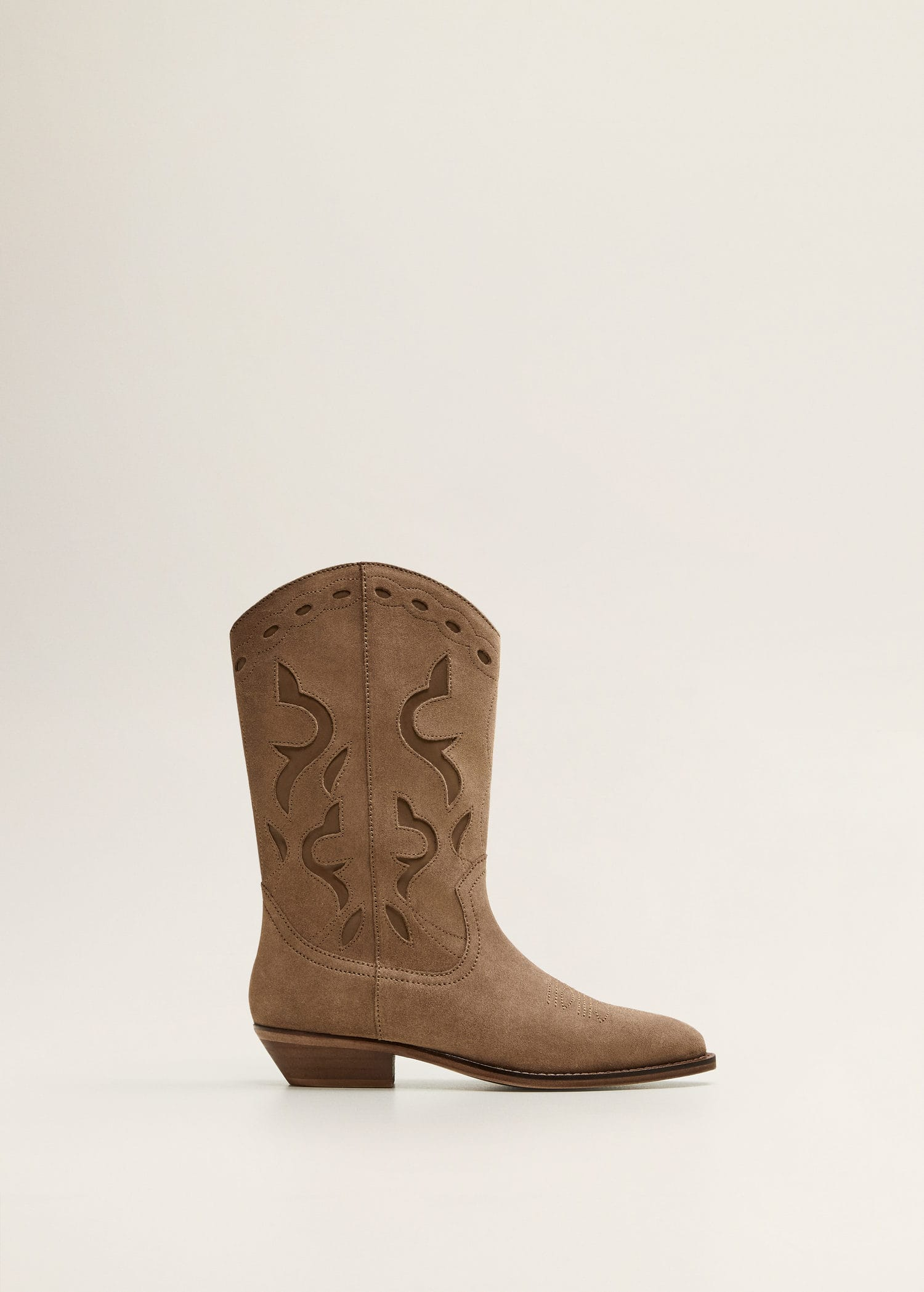 Stivali pelle cowboy