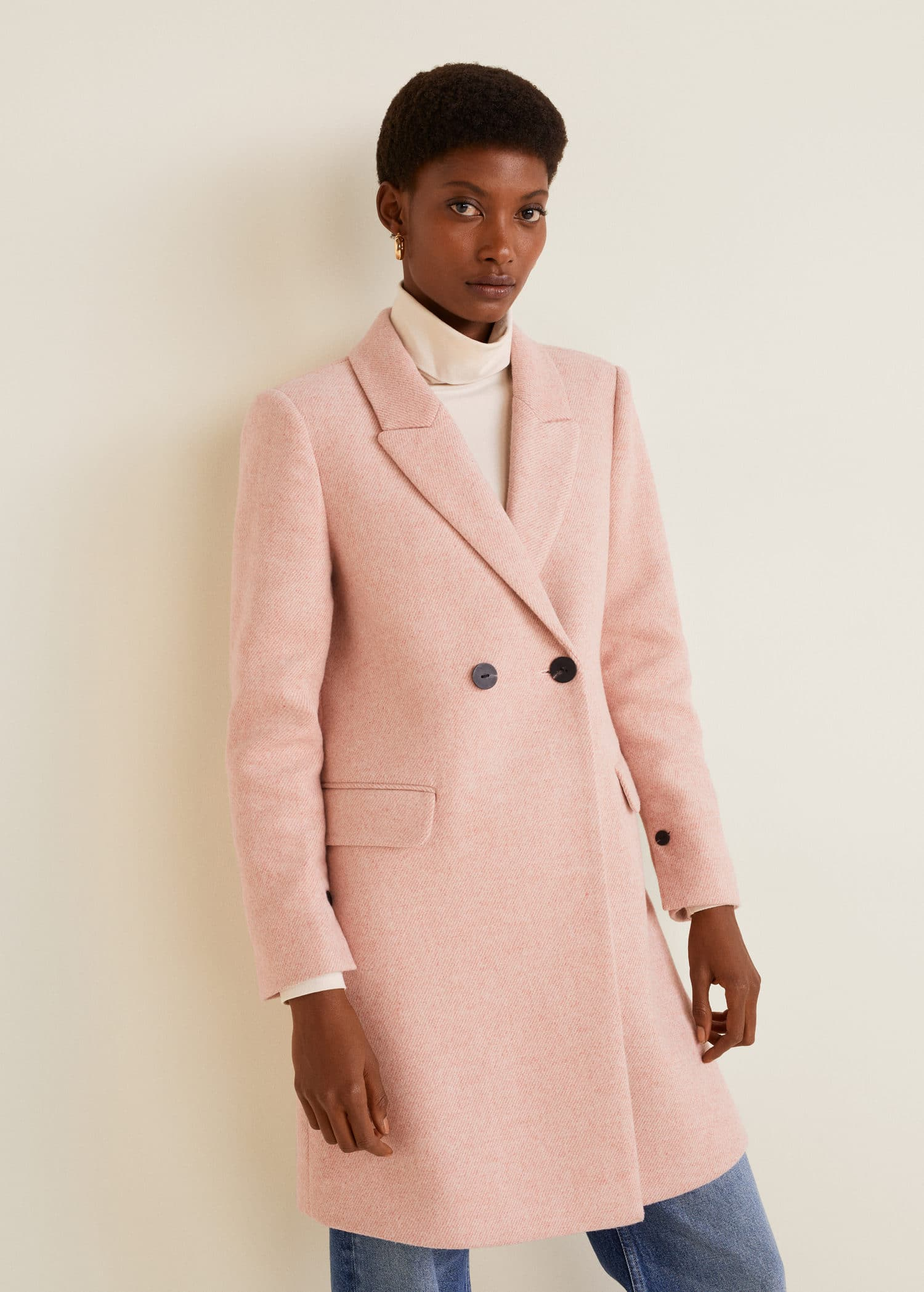 Masculine United WomenMango Structured Coat Kingdom 0OPkwX8n