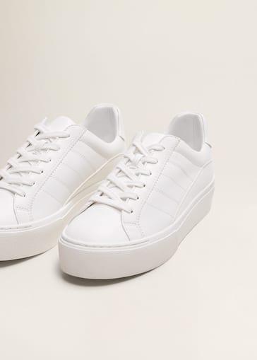 80782bcc365 Platform lace-up sneakers - Women