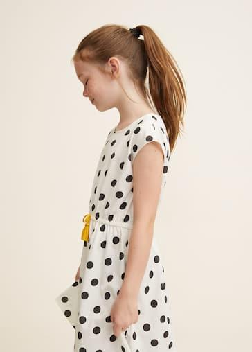 a8a8c0ace346 Φόρεμα εμπριμέ με φιόγκο - Λεπτομέρεια του προϊόντος 1