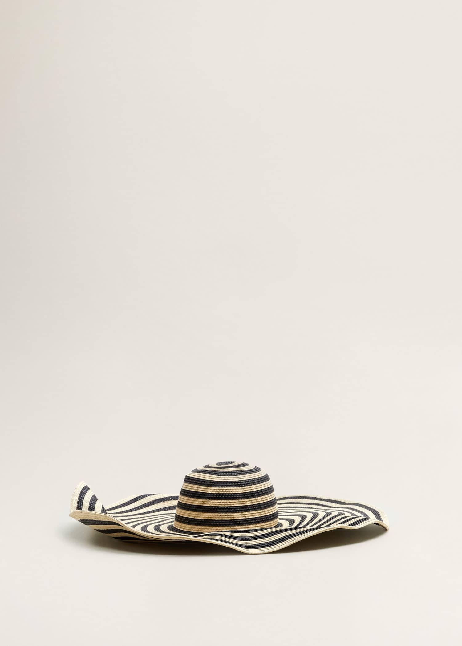 Słomkowy kapelusz fedora