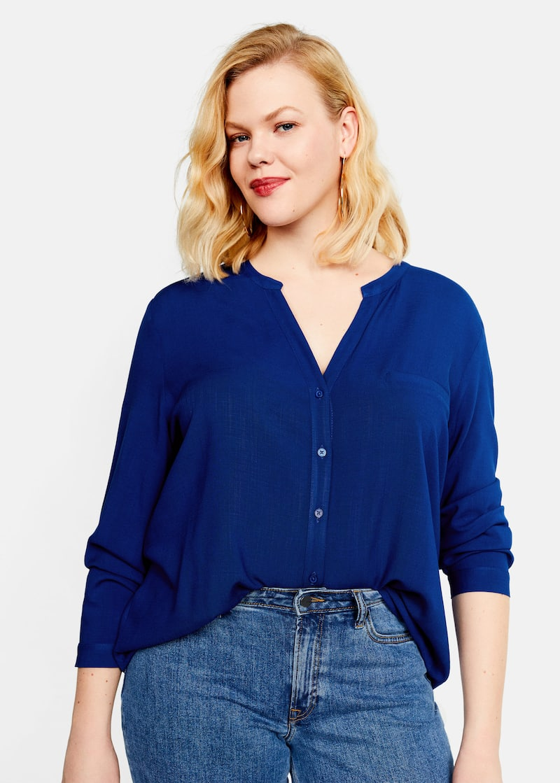 8f1f70e7f Chemises Grandes tailles 2019 | Violeta by Mango France