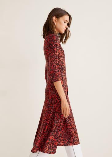 mejor valor muchos estilos bastante agradable Animal print dress