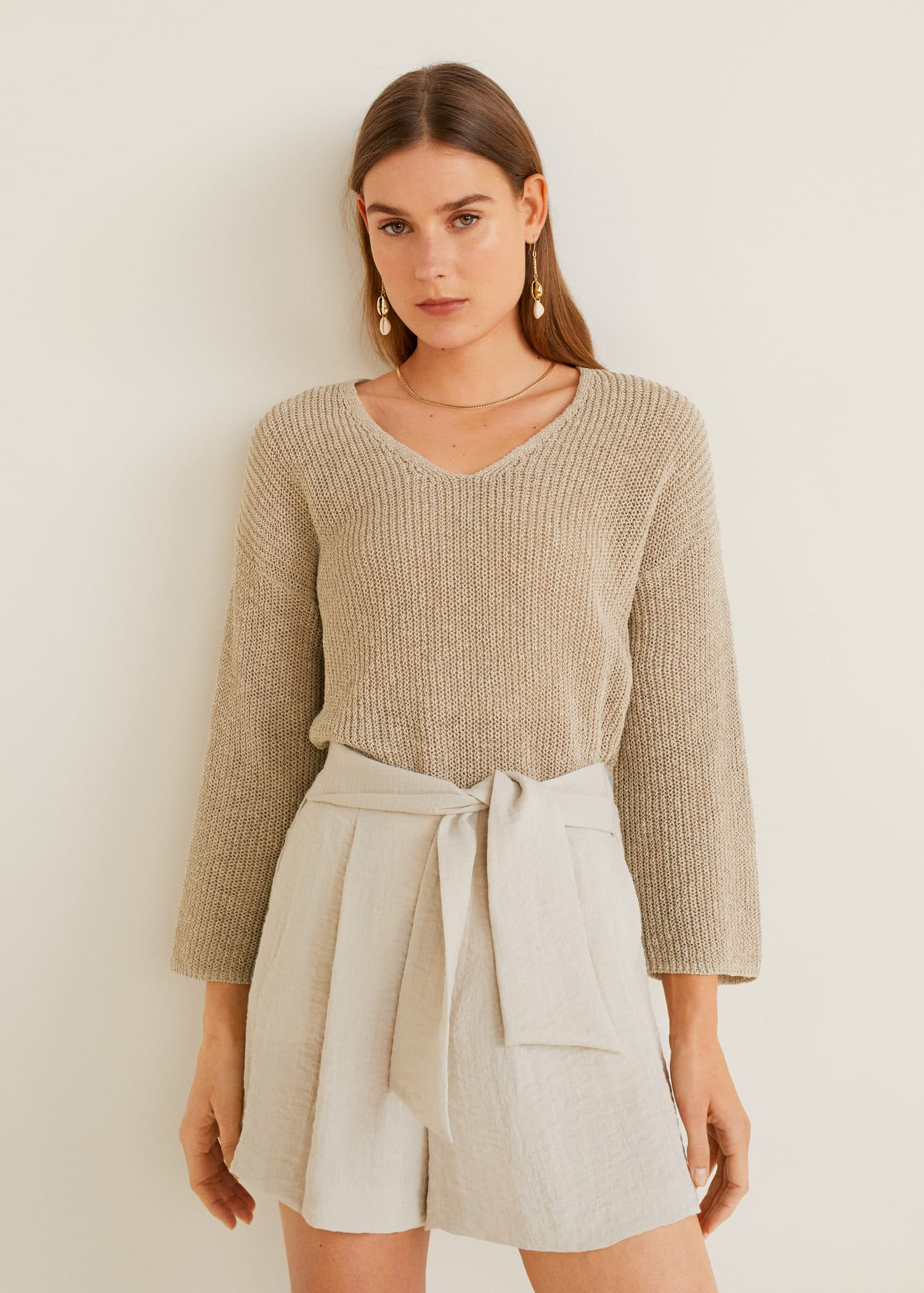 Robe pull motif noel femme