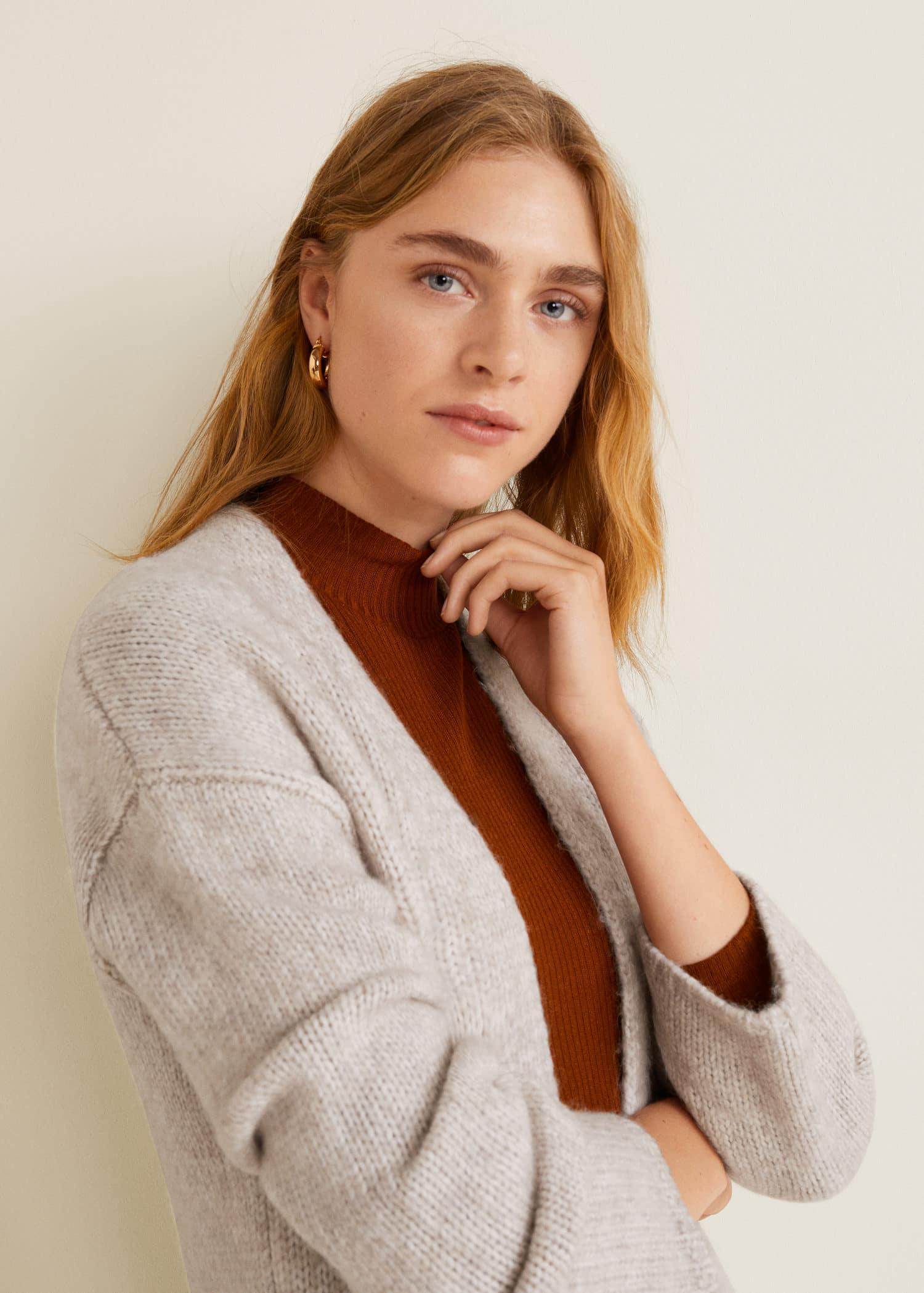 642ba654098fa3 Cardigans and sweaters for Women 2019 | Mango United Kingdom