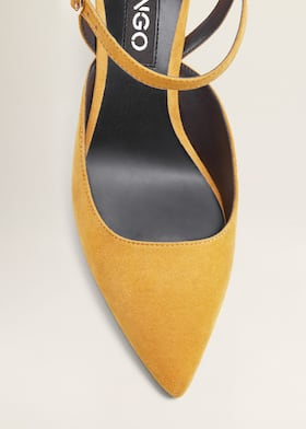 84707956 Zapato tacón destalonado - Mujer | Mango España
