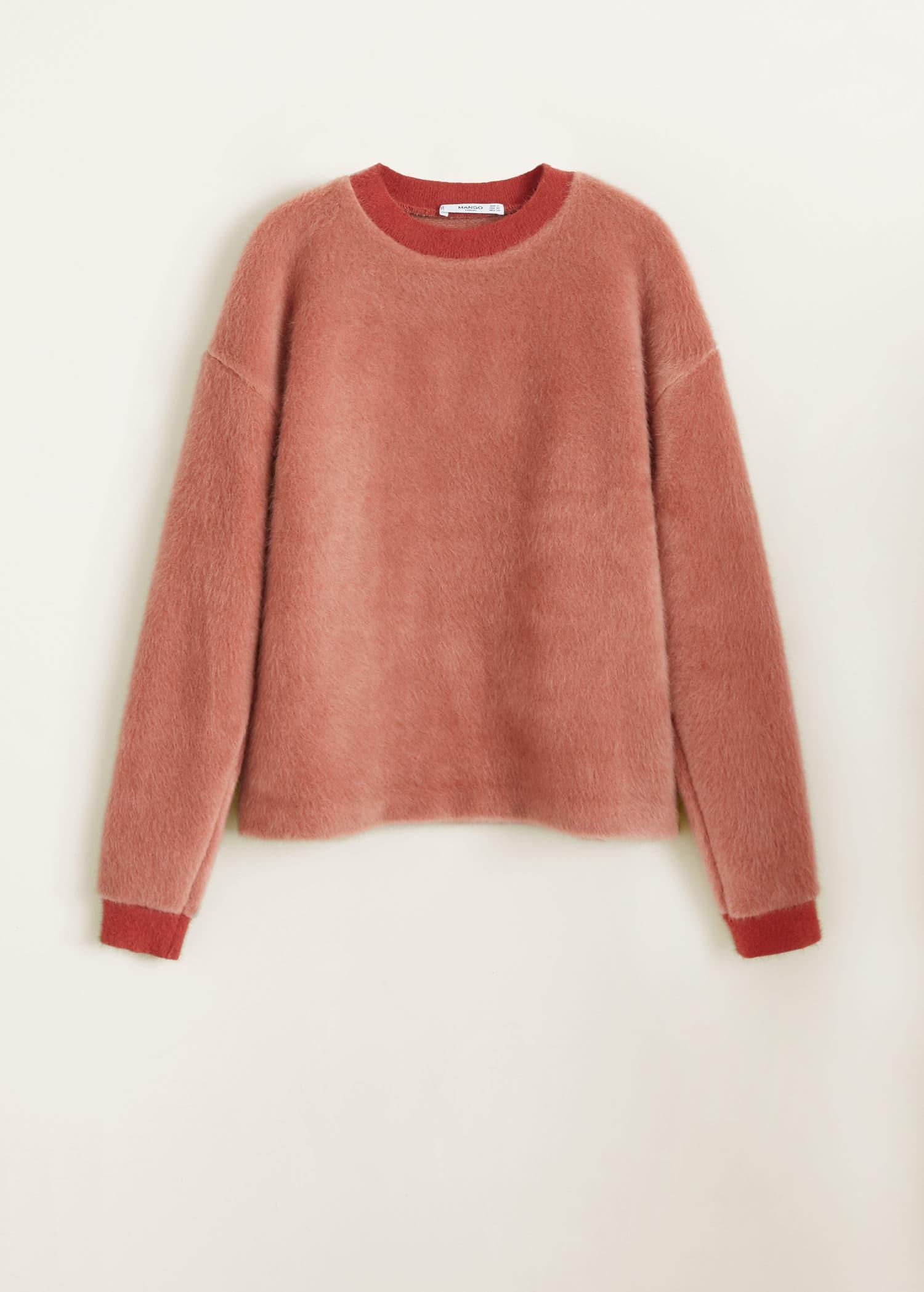 Kunstfell sweatshirt Damen | Mango Deutschland