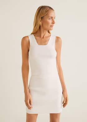 fb861a056a Minifalda entallada - Plano medio