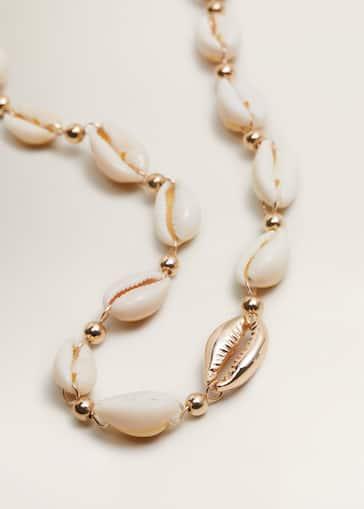 vaste gamme de prix modéré vraiment à l'aise Shells bead necklace