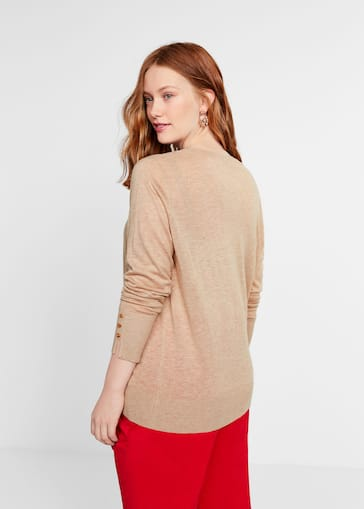 3d2d427dca3 Fine-knit sweater - Plus sizes