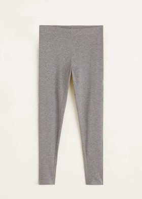 359c0789285562 Essential cotton leggings - Women   Mango USA