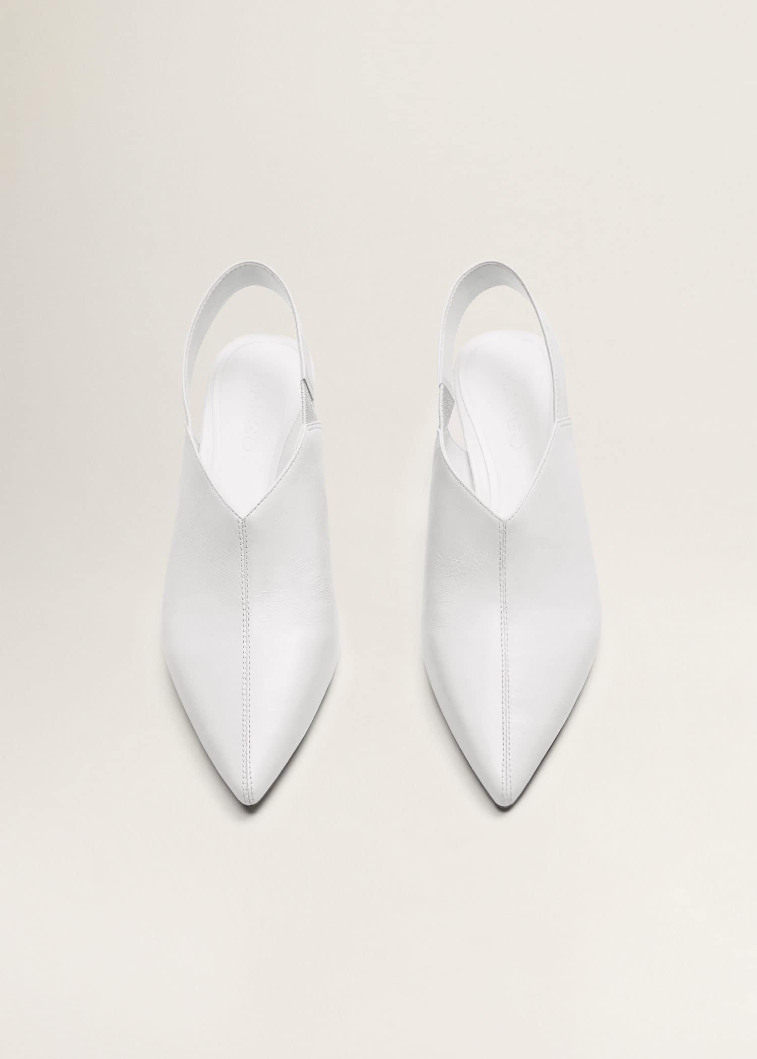 cuir l'arrière ouvertes cuir ouvertes à Chaussures Chaussures 3lK1uJcTF