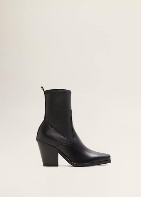 Bottines cuir cowboy