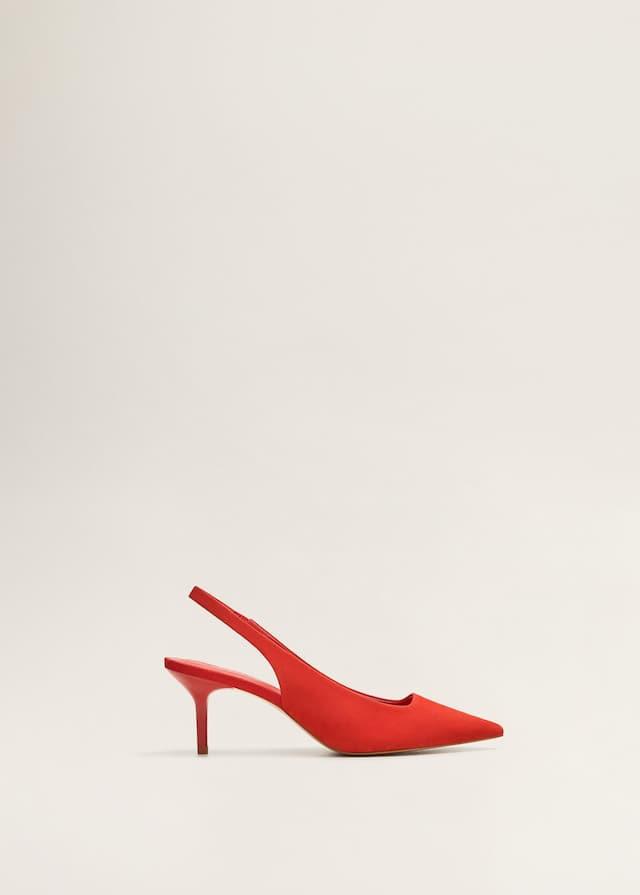Chaussures à talon cuir