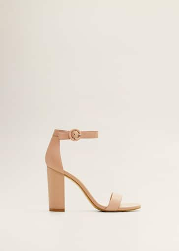 be9f90335 Leather ankle-cuff sandals - Women