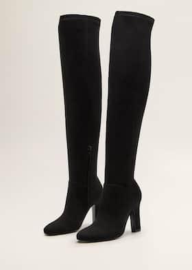 b8e976cbf2490 High heel boots - Woman | Mango Kuwait