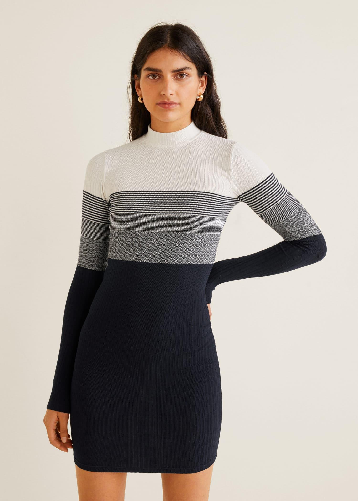 Vestidos cortos mango 2015