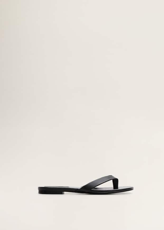 Кожаные сандалии by Mango