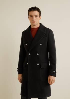 Cappotto lana doppia abbottonatura a1a199709240