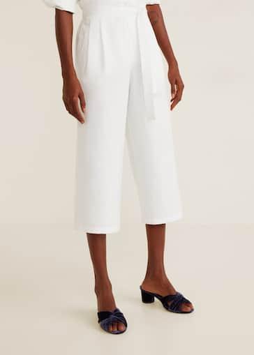 le dernier bfca0 38d13 Bow culottes trousers