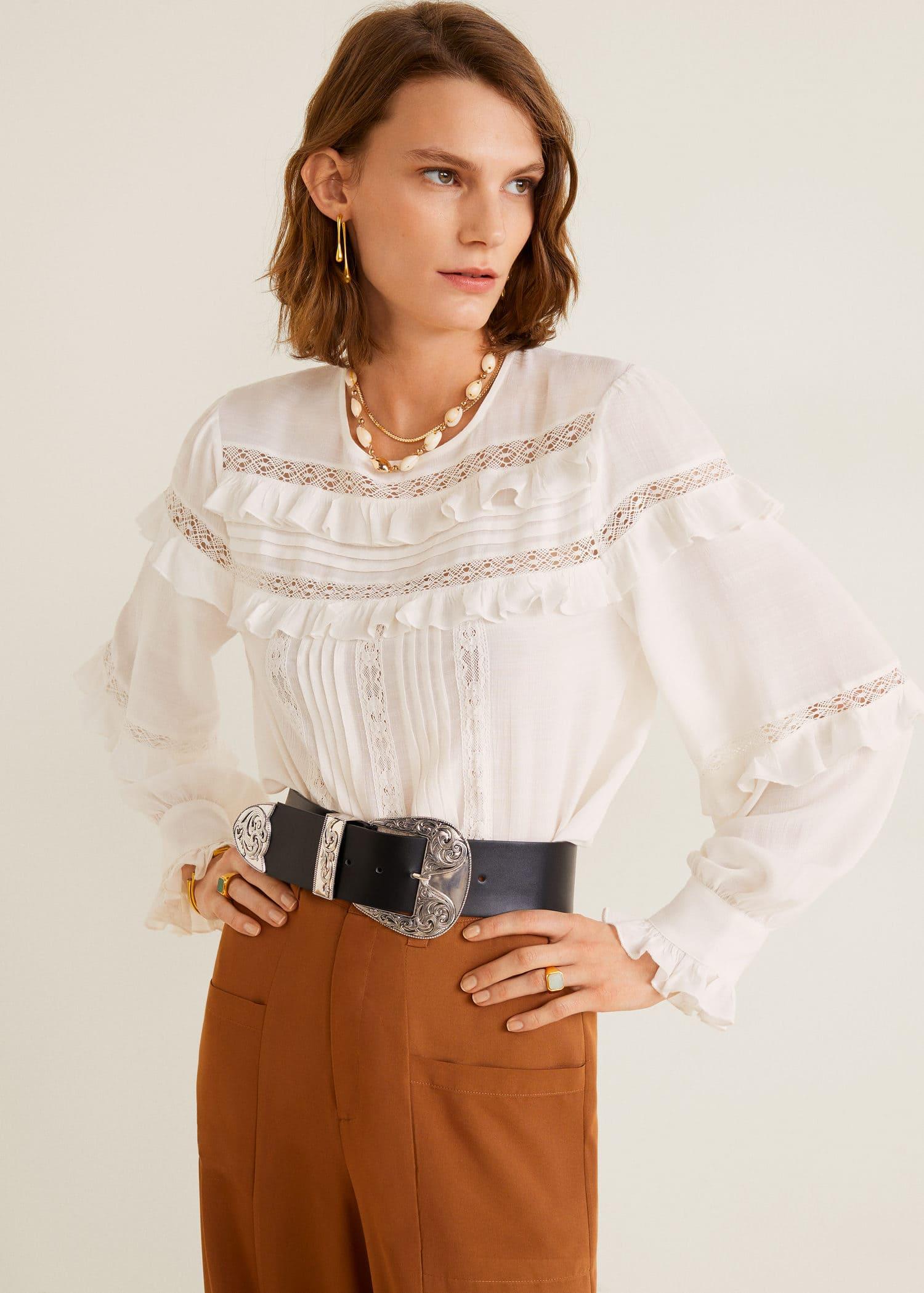 Mango Novos modelos de blusas e camisas
