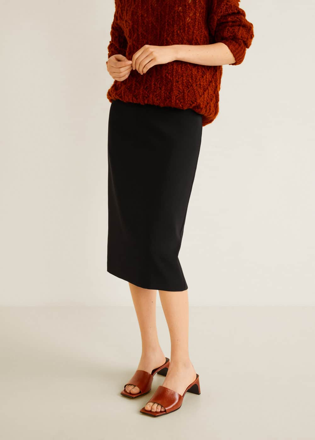 m-sita:falda lapiz