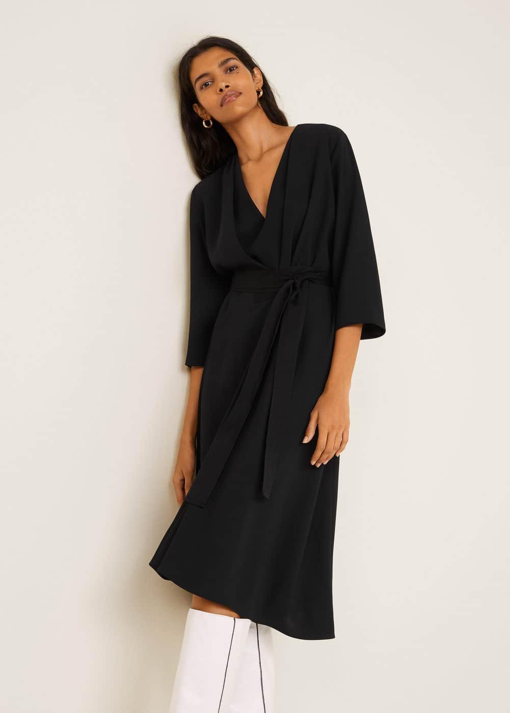 Bow pleats dress - Women  c66d20015