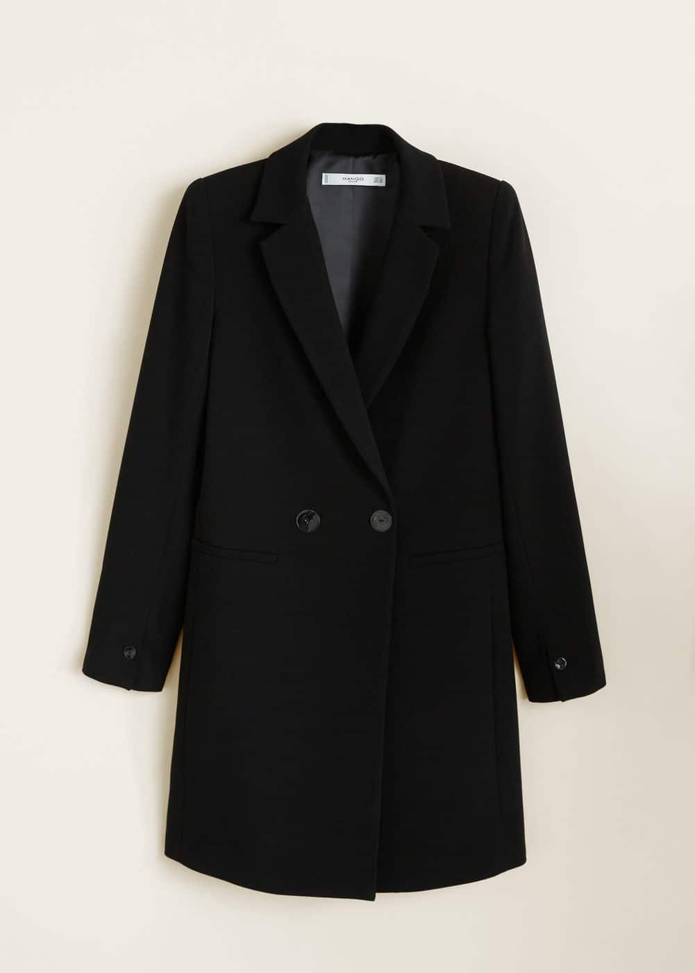 Mango - Double-breasted coat - 7